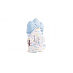 Baby jem Baby Teether Gloves Scratch - Blue