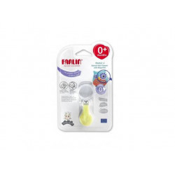 Farlin Doctor J. Deluxe Nail Clipper with Magnifier - Lime