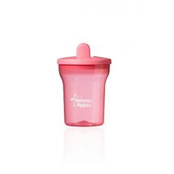 Tommee Tippee Basics First Beaker, +4 months, Pink