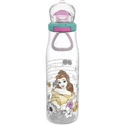 Zak Designs Disney Princess 25 oz Plastic Tritan Kiona Water Bottle