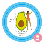 Intex Air Mattress Avocado