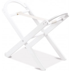 Italbaby Nido Wooden Holder for Basket with Back Wheels