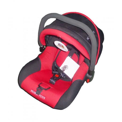 كرسي السيارة للأطفال من هوم تويز 0-9 أشهر، أحمر