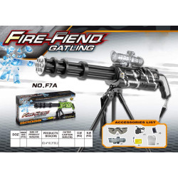 Fire Fiend Gatling, F7-A Water Gun Firing Machine
