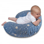 Chicco - Boppy Breast Feeding Pillow Cotton Moon and Stars