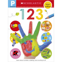 Scholastic Early Learners: Pre-K Skills Workbook: 123, 24 Pages