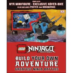LEGO NINJAGO Build Your Own Adventure Greatest Ninja Battles, 80 pages