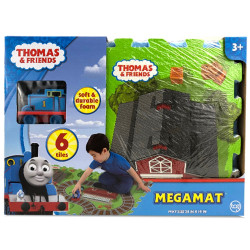 Thomas Friends Mega 6-Piece Floor Play Mat with Vehicle