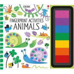 Fingerprint Activities : Animals Softcover, 64 Pages.