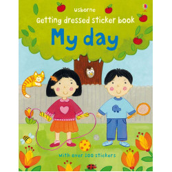 Getting Dressed Sticker Book: My Day, 24 pages