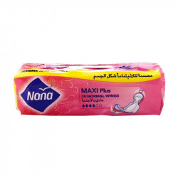 Nana Maxi Normal Wings 10 Pads
