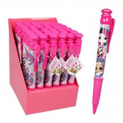 مفاجآت لول قلم حبر جامبو عصري, باللون الزهري
