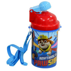 Paw Patrol Popup Lid and Belt Bottle, 12 oz