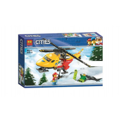 Bela Cities Ambulance Helicopter 208 Pieces