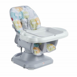 Fisher-Price SpaceSaver Adjusting Baby High Chair Booster Seat