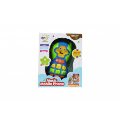 Chimstar Music Mobile Phone Toy, Multicoloured -Assorted