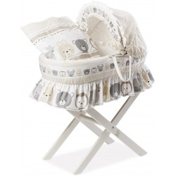 Italbaby Funny Friends Primo Nido Basket, Multi-Color