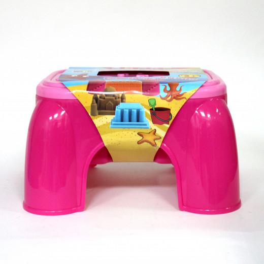طاولة عجين ثلاثية الأبعاد ، مع 36 عجينة ، وردي