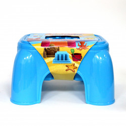 3D Play Dough Table, with 36 Dough, Blue