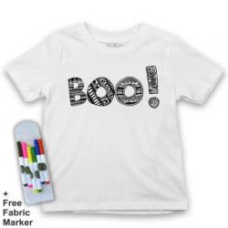 Mlabbas Halloween Kids Coloring Tshirt - 12-13 years