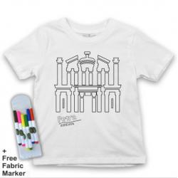 Mlabbas Petra Coloring Tshirt - 3-4 years