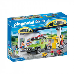 Playmobil Gas Station 169 Pcs For Children