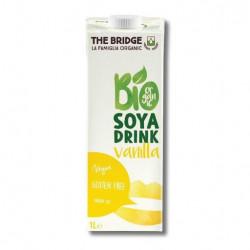 The Bridge Brazil Soy Drink Vanilla 1L, Organic