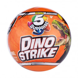 ZURU 5 Surprise Dino Strike Mystery Capsule Collectible Toy (1 Pack)