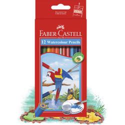أقلام الألوان المائية من فابر كاستل, 12 قلم