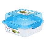 Sistema To Go Rectangle Lunch Stack Box, 1.24L - Blue