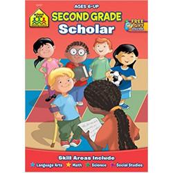 School Zone - Second Grade Scholar Ages 6-up