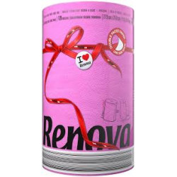 Renova Kitchen Towels, 2 Ply - 120 Sheets - Fuchsia