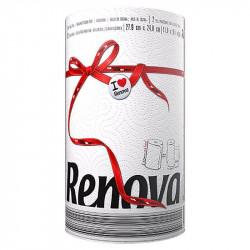 Renova Kitchen Towels, 2 Ply - 120 Sheets - White