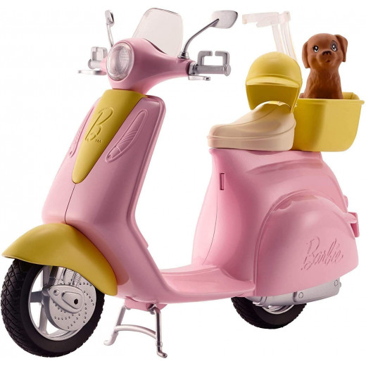 Barbie Scooter & Puppy