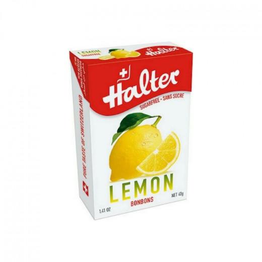 Halter Lemon Sugarfree Bonbons 40g