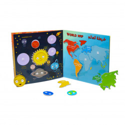 Babbelyo Interactive Educational Book that Develop Problem-Solving Skills, 6-9 Years Old