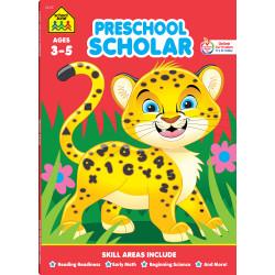 School Zone Preschool Scholar Ages 3-5, 64 pages