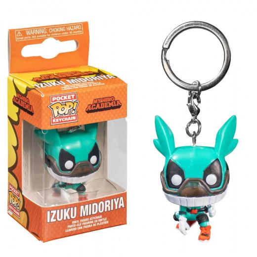 Funko Pop! Keychain: MHA - Deku w/ Helmet