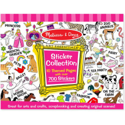 Melissa & Doug Sticker Collection Book: 500+ Stickers - Pink