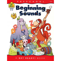 School Zone Beginning Sounds, 32 pages