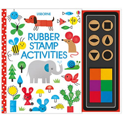 Rubber Stamp Activities Soft Cover, 64 Pages