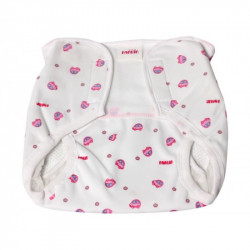 Farlin Baby Cloth Diaper Pant, Medium Size 6-9 Kg , 2 Assorted Models