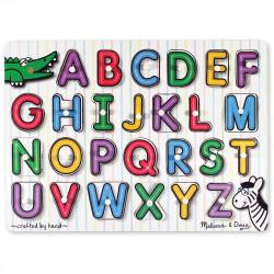 Melissa & Doug See - Inside Alphabet Peg Puzzle