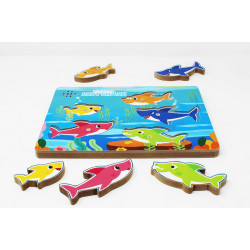 Pinkfong Baby Shark Puzzle with Sound