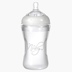 Nuby Natural Touch Softflex Silicone Feeding Bottle 300 ml