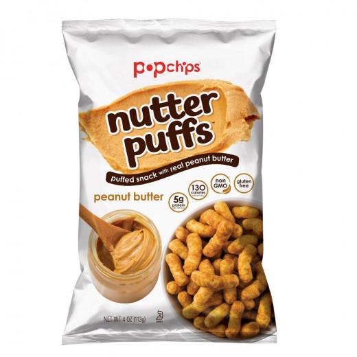 Chips Peanut Butter Nutter Puffs 113g