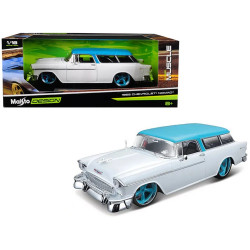 Maisto Design 1:18 Scale Classic Muscle 1955 Chevrolet Nomad