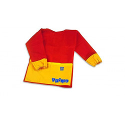 Primo Anti-stain Plastic Apron for Painting -red