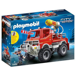 Playmobil Fire Truck For Children