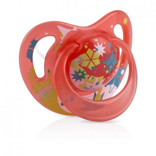 NUBY Classic Ortho Pacifier (0-6m) - Red